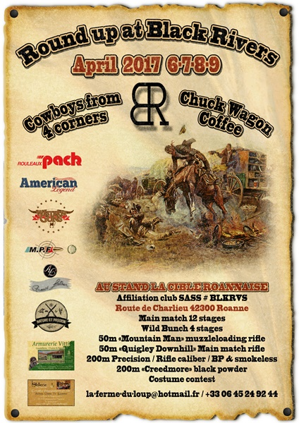 Round up at Black Rivers april 2017 Affich10