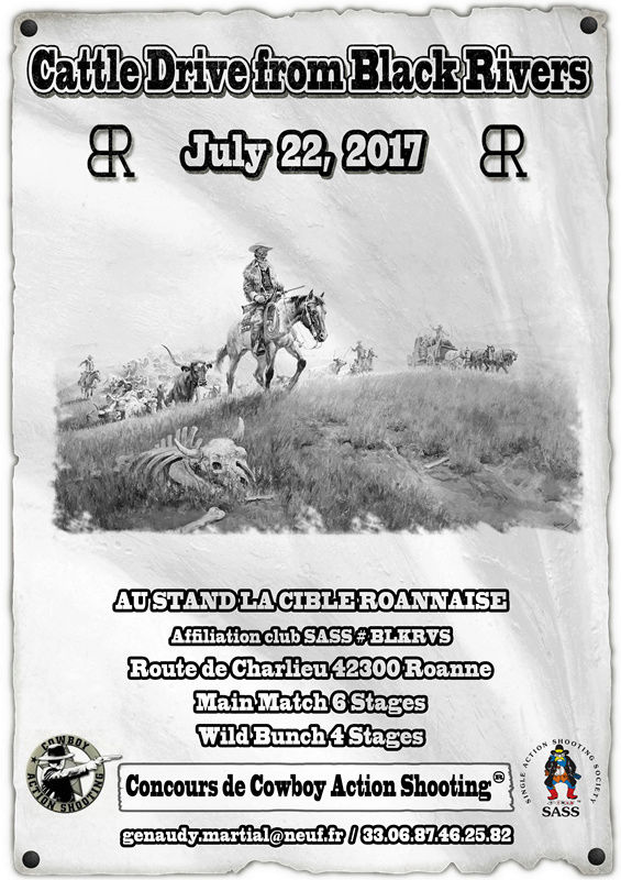 Cattle drive from Black Rivers 21/22 july Affich14