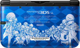 3DS LL Persona Q: Shadow of the Labyrinth Velvet Model Person10