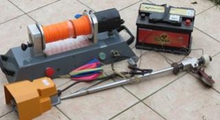 treuil complet avec batterie-VENDU Treuil16