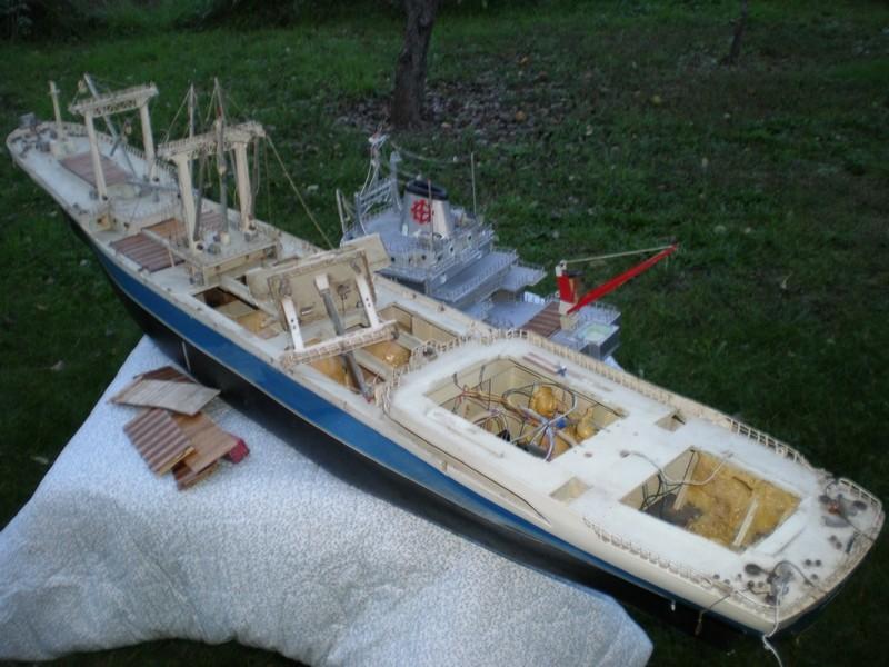 """Le cargo porte-conteneurs """"patrick Vieljeux"""" Pa240015"""