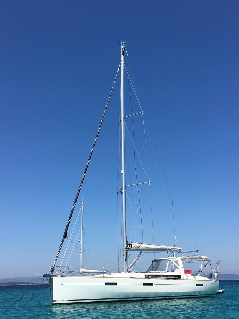 Oceanis 45 (Squiz) à vendre ! Img_5211