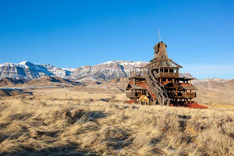 La maison de Mr Smith - Wyoming - USA 20120210