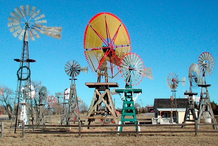Le musée des moulins à vent - Shattuck - USA 32737210