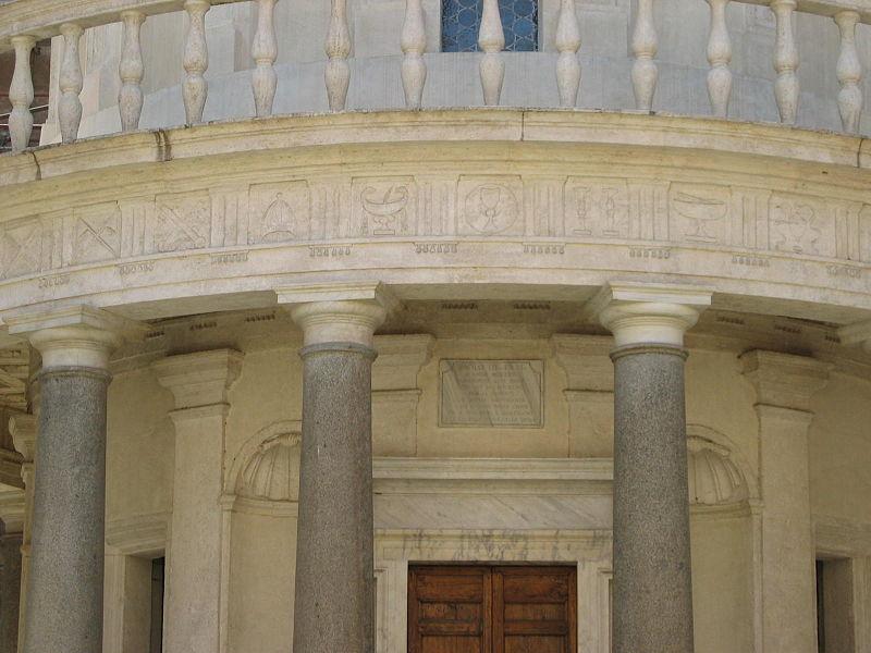 Le temple de San Pietro - Rome - Italie 800px-14