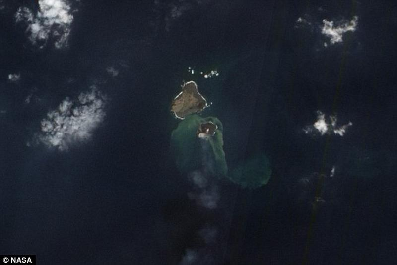 Une nouvelle île émerge au large du Japon Articl11