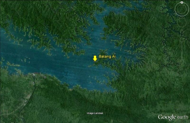 Les Dayaks - Bornéo Batang10