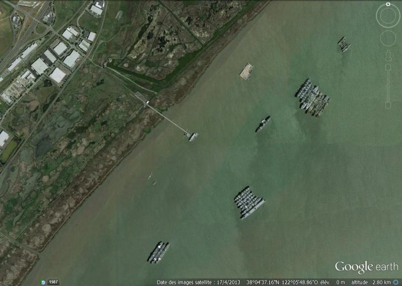 La flotte de réserve - Suisun Bay, Californie - USA Bateau10