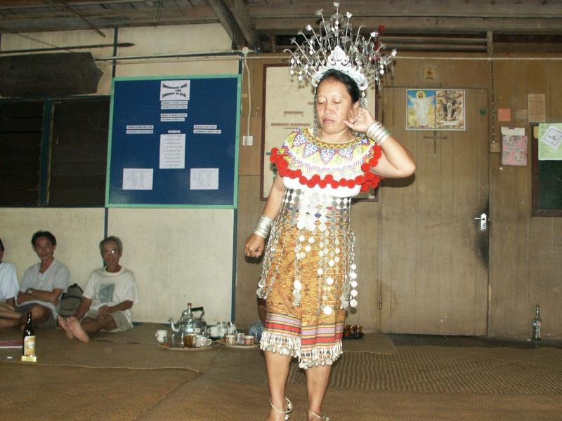 Les Dayaks - Bornéo Borneo21
