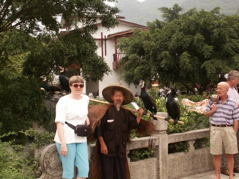 Le pêcheur aux cormorans - Chine Chine012