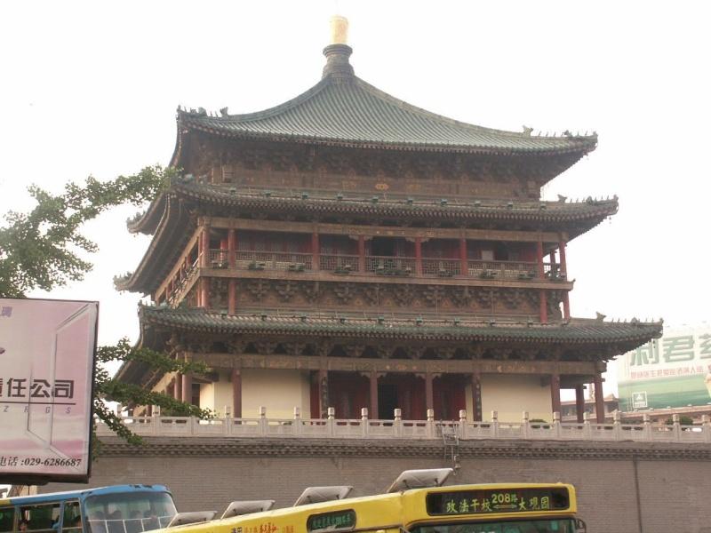 La tour du Tambour - Xian - Chine Chine110