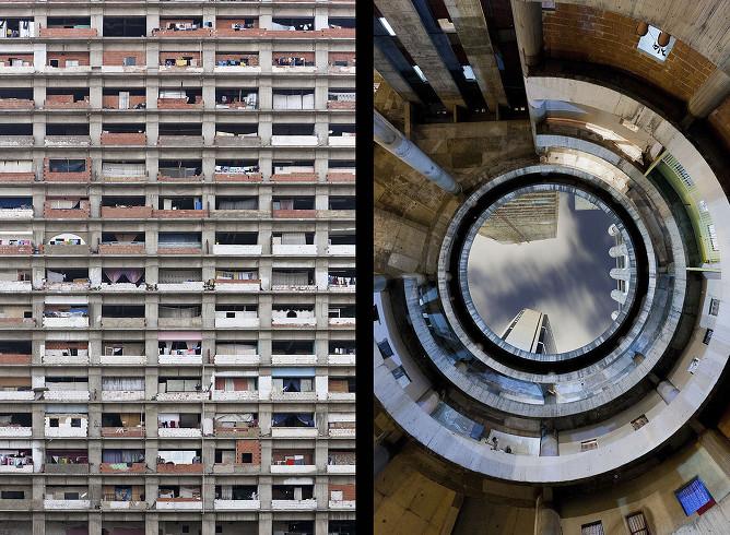 La tour de David - Caracas - Venezuela Combo_10