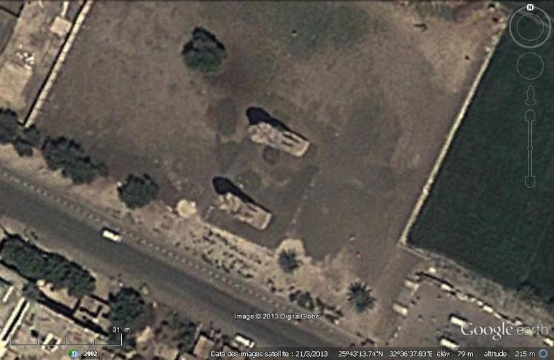 Les colosses de Memnon - Égypte Memnon10