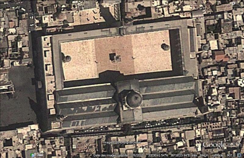 La mosquée des Omeyyades - Damas - Syrie Omeyya10