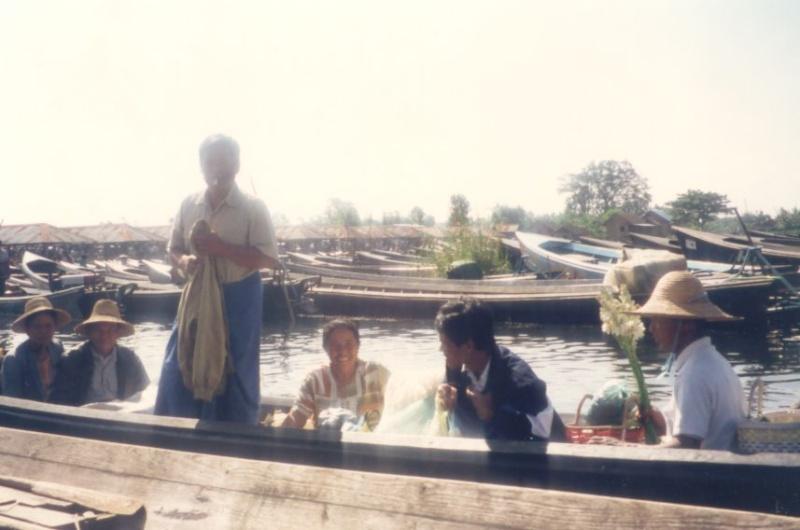 Le lac inlé - Myanmar Photo_39