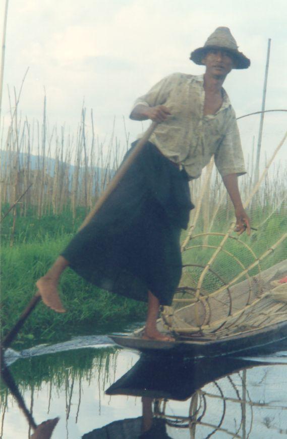 Le lac inlé - Myanmar Photo_40