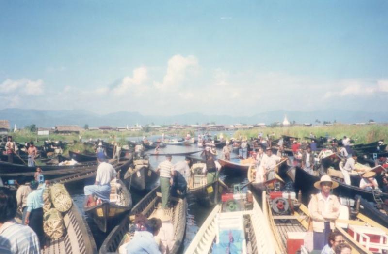 Le lac inlé - Myanmar Photo_42