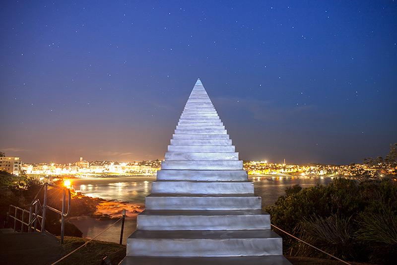 Un escalier vers le ciel !! - Bondi Beach, Sydney - Australie Stairs10