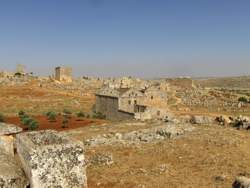 Sergilla village fontôme - Syrie Syrie_10