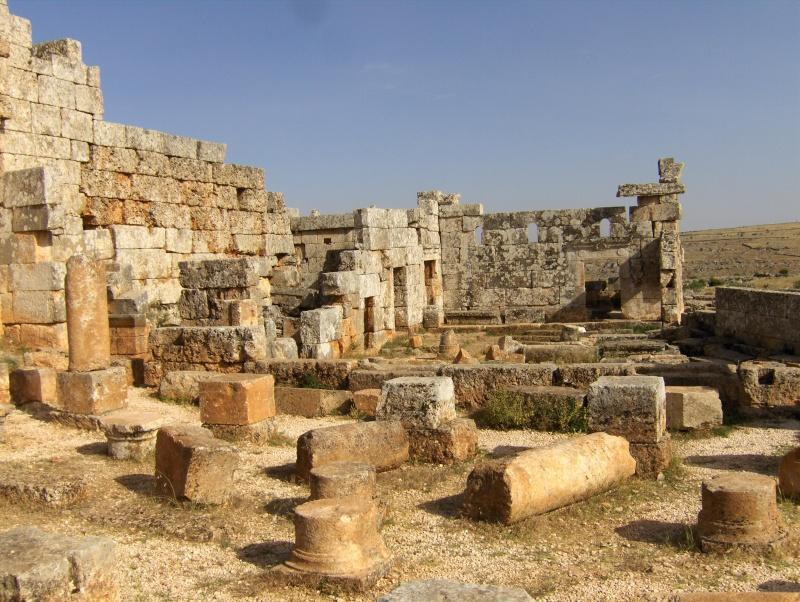 Sergilla village fontôme - Syrie Syrie_11