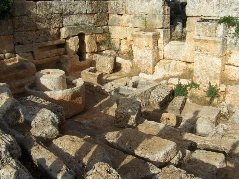 Sergilla village fontôme - Syrie Syrie_13