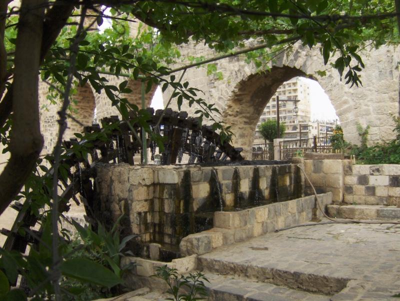 Hama la ville des norias Syrie Syrie_31