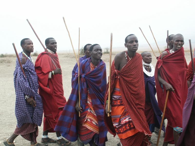 Les Massaï - Tanzanie Tanzan13