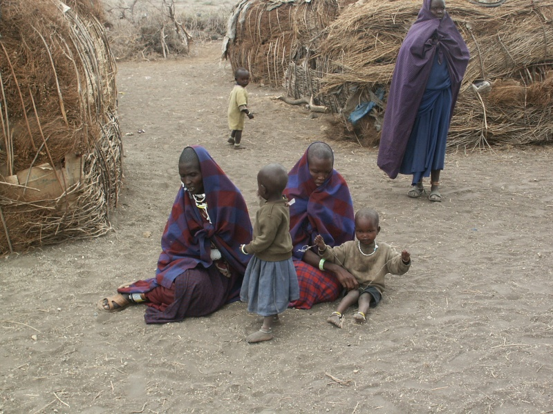 Les Massaï - Tanzanie Tanzan15