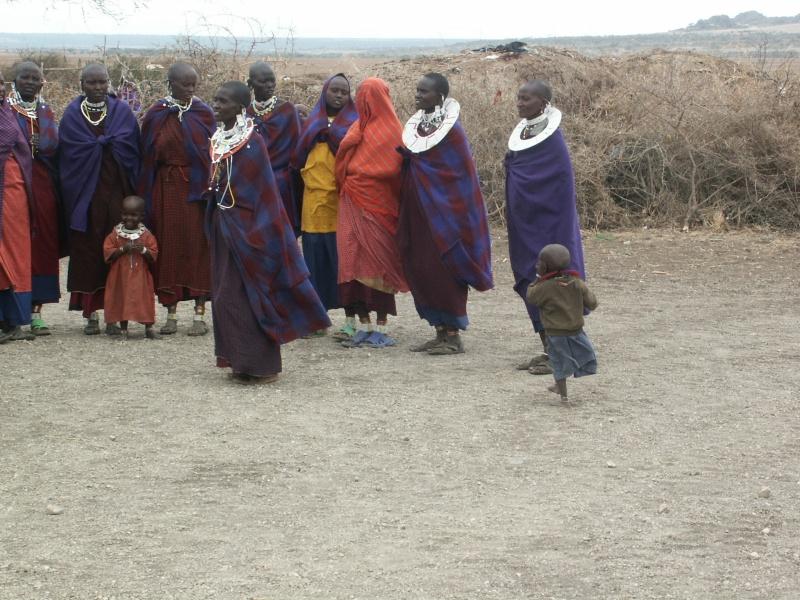 Les Massaï - Tanzanie Tanzan16