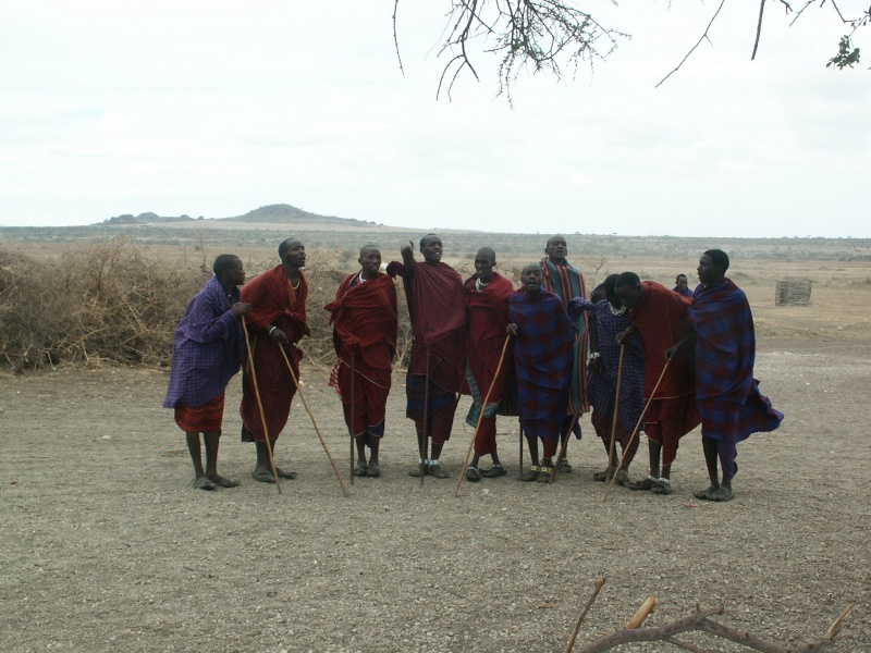 Les Massaï - Tanzanie Tanzan18