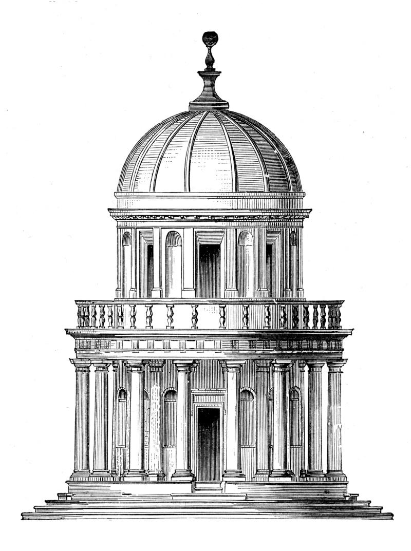 Le temple de San Pietro - Rome - Italie Tempie10