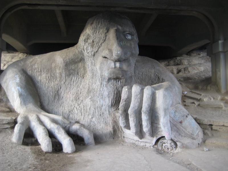 Le Fremont Troll - Seattle, Washington - USA Troll_11