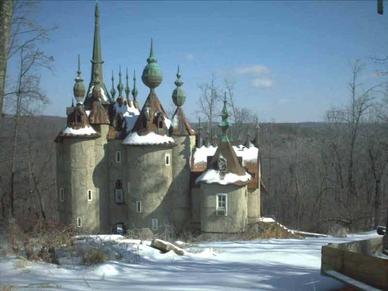Château de Mont Rouge - Duhram - Caroline du Nord - USA Winter10