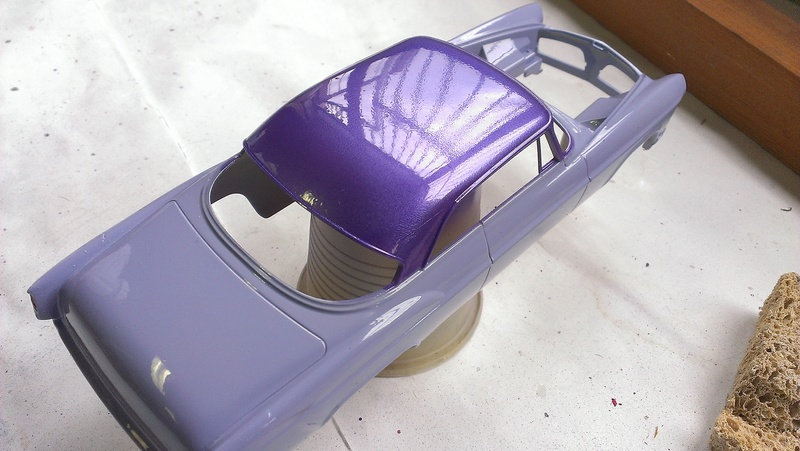 55' Chrysler 300,  Mild Kustom (Lucky Lavender ) a y est terminé  Imag0836