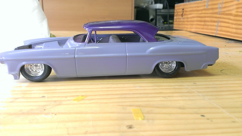 55' Chrysler 300,  Mild Kustom (Lucky Lavender ) a y est terminé  - Page 2 Imag0844