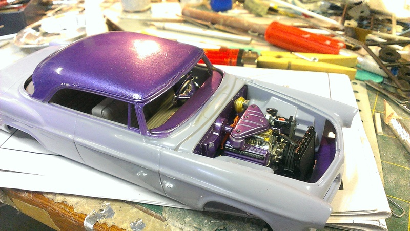 55' Chrysler 300,  Mild Kustom (Lucky Lavender ) a y est terminé  - Page 2 Imag0850