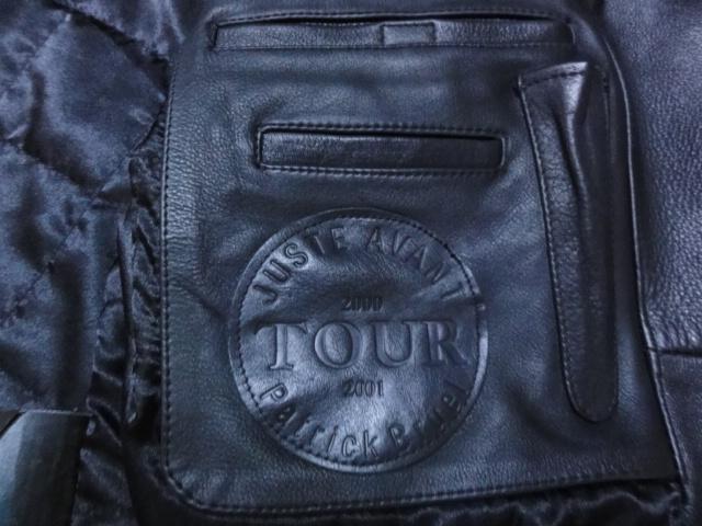 """Vends veste en cuir de la tournée """"juste avant"""" Dsc02015"""