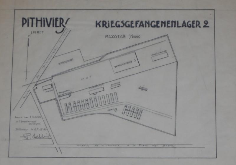 Plan original du camp d'internement de PITHIVIERS Sam_2811