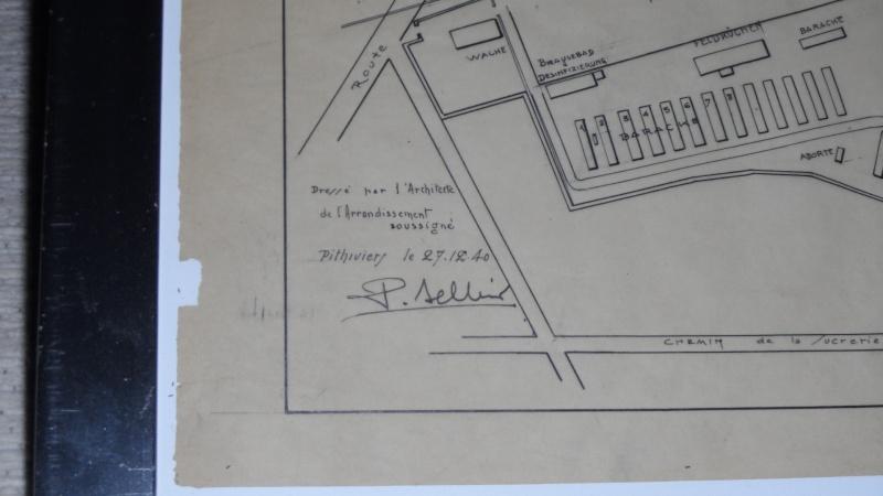Plan original du camp d'internement de PITHIVIERS Sam_2812
