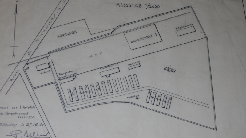 Plan original du camp d'internement de PITHIVIERS Sam_2813