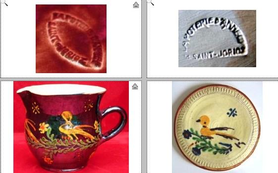 19th century slipware shaving bowl - Annecy Franc Saint_10