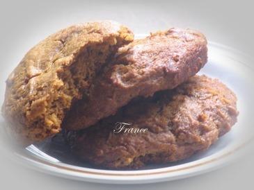 Biscuits à la mélasse&crème sure: Oie_mv10
