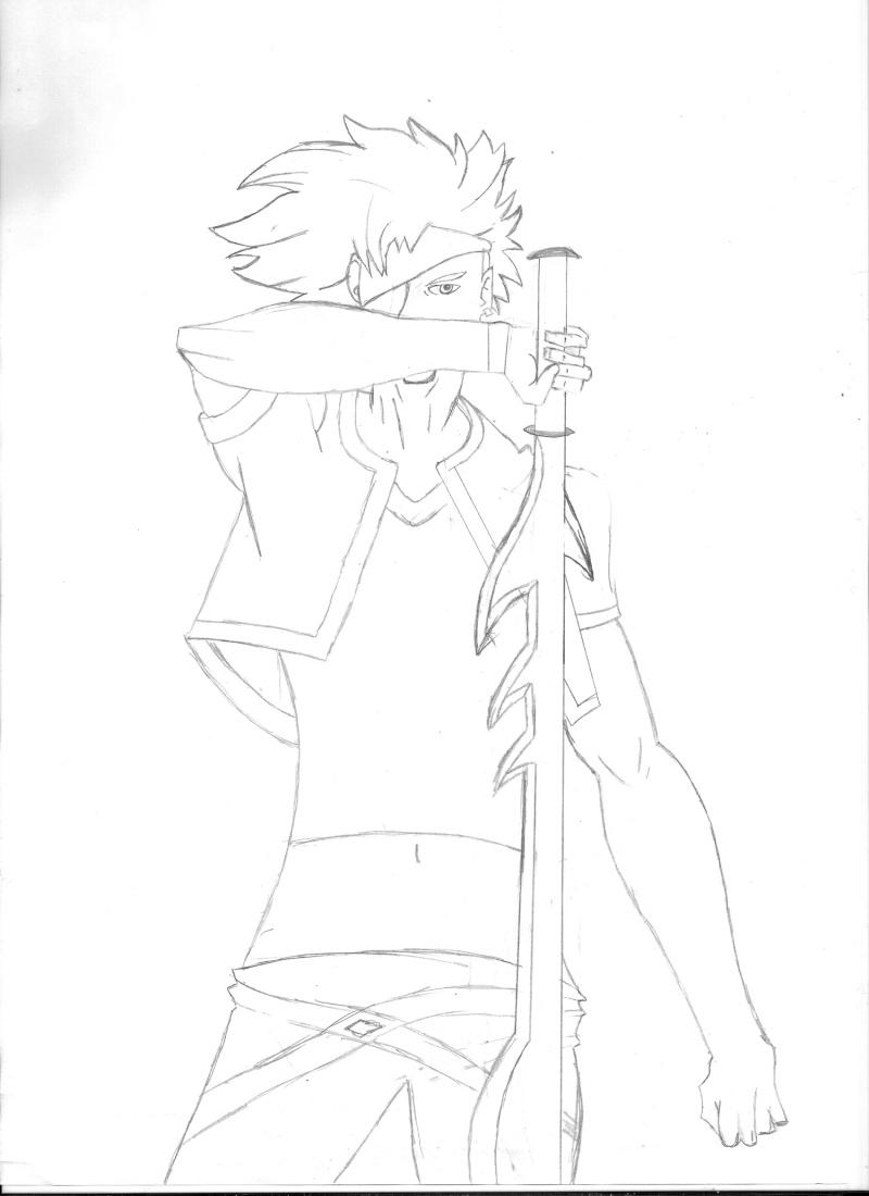 des esquisses  Mangas10