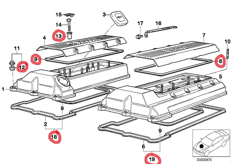 Remplacement des joints et accss de couvre culasse  1211