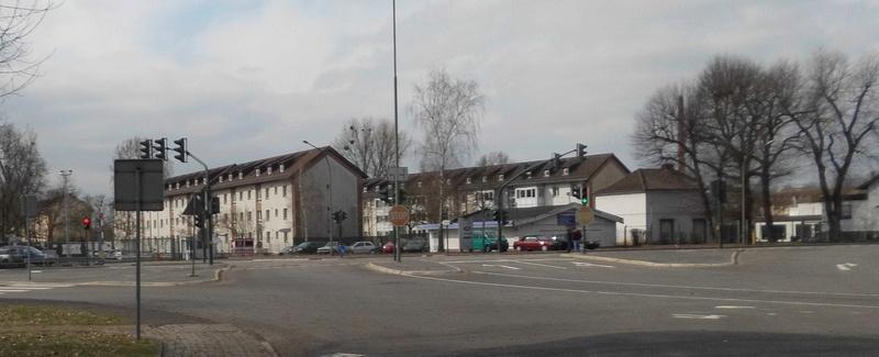 Spurensuche: heute die Eisenbahnregimenter II und III und der Eisenbahn Neben Ersatzpark in Hanau  Unbena11
