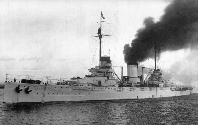 La Marine Ottomane XVIIIe - XXe siècle Yavuz_10