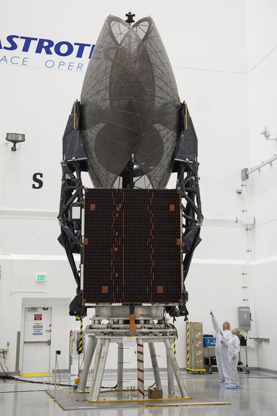 Lancement Atlas-5 / TDRS-L - 24 janvier 2014 0210