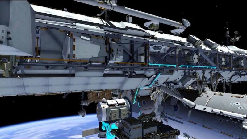 [ISS]EVA 26 - Remplacement du MDM EXT-2 défectueux - 23 avril 2014 181
