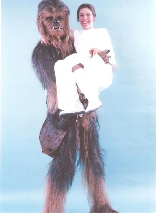 [Films] Photos personnelles et inédites de Peter Mayhew (Chewbacca) Bd04wi10