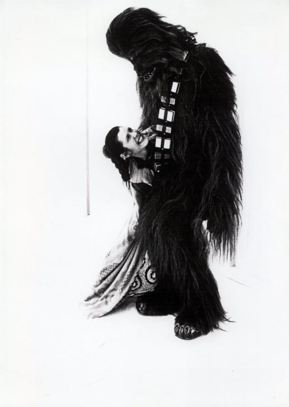 [Films] Photos personnelles et inédites de Peter Mayhew (Chewbacca) Bd1zhb10